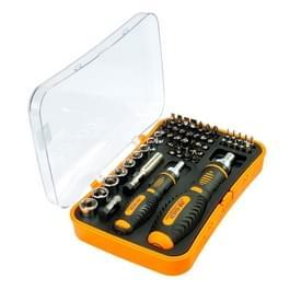 JAKEMY JM-6101 53 in 1 arbeid ratel schroevendraaier reparatie Tool Set