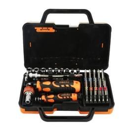 JAKEMY JM-6123 31 in 1 kleur Ring professionele schroevendraaier reparatie Tool Set
