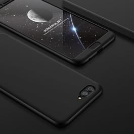 GKK voor Huawei nova 2s drie-lid 360 graad volledige PC beschermende geval back cover(Black)
