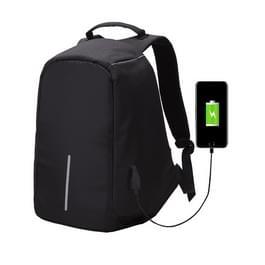 Multifunctionele grote capaciteit anti-diefstal beveiliging Casual rugzak Laptop Computer reistas met externe USB opladen Interface voor mannen / vrouwen  maat: 42 x 29 x 14 cm(Black)