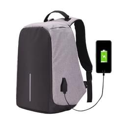Multifunctionele grote capaciteit anti-diefstal beveiliging Casual rugzak Laptop Computer reistas met externe USB lading Interface voor mannen / vrouwen  maat: 42 x 29 x 14cm(Grey)