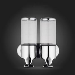 Hotel douche hand kitspuit huishoudelijke RVS wassen vloeibare Shampoo zeep fles  capaciteit: 1000ml (transparant)