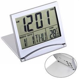 MT-033 LCD Display Portable Folding digitale temperatuur reiswekker
