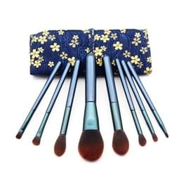 LIMY 8 in 1 Beginner houten handvat multifunctionele make-up borstel