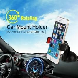 HAWEEL 360 graden roterende Zuignap auto Mount houder voor iPhone 6 & 6 Plus / 4.0-5.5 inch Smartphone