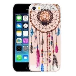 Voor iPhone 5 & 5s & SE kleur Bell patroon IMD vakmanschap TPU beschermende softcase