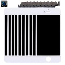10 stuks 4 in 1 voor iPhone 5 (Front Camera + LCD + Frame + touchpad) Digitizer Assembly(White)