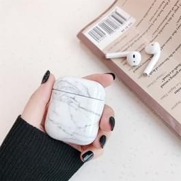 Marmerpatroon draadloze oortelefoon opladen vak beschermhoes voor Apple luchtpods 1/2
