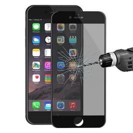 ENKAY Hat-Prins voor iPhone 6 & 6s 0 26 mm 9H oppervlakte hardheid 3D Ultra-thin Carbon Fiber Privacy Anti-Glare volledige scherm getemperd glas beschermende Film(Black)
