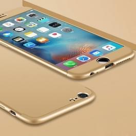 GKK voor iPhone 6 & 6s PC drie - alinea Shield 360 graden volledige beschermende hoes back cover(Gold)