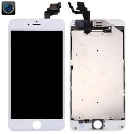 4 in 1 voor iPhone 6 Plus (Front Camera + LCD + Frame + touchpad) Digitizer Assembly(White)
