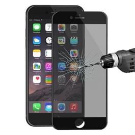 ENKAY Hat-Prins voor iPhone 6 Plus de 6s Plus de 0 26 mm 9H & oppervlakte hardheid 3D Ultra-thin Carbon Fiber Privacy Anti-Glare volledige scherm getemperd glas beschermende Film(Black)