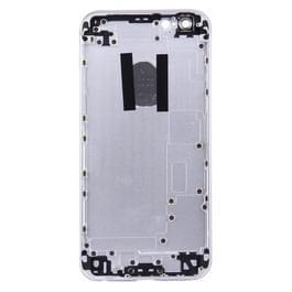 5 in 1 voor iPhone 6s (backcover + kaarthouder Volume Control-toets + Power knop + Mute Switch Vibrator-toets) volledige vergadering huisvesting Cover(Silver)