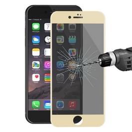 ENKAY Hat-Prins voor iPhone 8 & iPhone 7 0 26 mm 9H oppervlakte hardheid 3D Ultra-thin Carbon Fiber Privacy Anti-Glare volledige scherm getemperd glas beschermende Film(Gold)