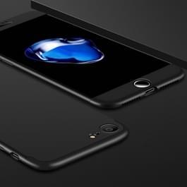iPhone 7 & 8 omhullend driedelig beschermend Kunststof GKK Hoesje (zwart)
