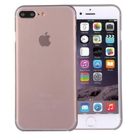 iPhone 7 Plus ultra-dun transparant Polypropyleen back cover Hoesje (grijs)