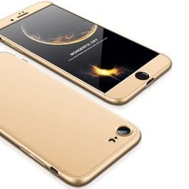 GKK voor iPhone 8 PC drie - alinea Shield 360 graden volledige beschermende back cover Case(Gold)