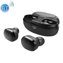 T12 Stereo TWS draadloze Binaural Bluetooth Earphone(Black)
