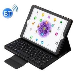 Voor iPad Pro 9 7 inch / iPad Air 2 / iPad Air /iPad 9 7 (2018) & iPad 9 7 (2017) Afscheidbare in contracten ABS Bluetooth Keyboard + Litchi textuur horizontale Flip lederen draagtas met Holder(Black)