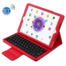 Voor iPad Pro 9 7 inch / iPad Air 2 / iPad Air /iPad 9 7 (2018) & iPad 9 7 (2017) Afscheidbare in contracten ABS Bluetooth Keyboard + Litchi textuur horizontale Flip lederen draagtas met Holder(Red)
