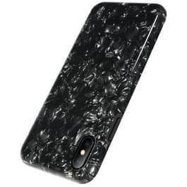 Benks voor iPhone X zachte TPU Dropproof IML Diamond patroon volledige geval backcover (zwart)