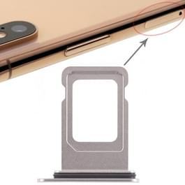 Dubbele SIM-kaarthouder voor iPhone XS Max (dubbele SIM-kaart) (wit)