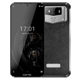 OUKITEL K12  6GB + 64GB  dubbele achtercameras  gezichts identiteitskaart & vingerafdruk identificatie  10000mAh batterij  6 3 duim Androïde 9 0 MTK6765 Helio P35 kern tot 2.3 GHz  netwerk: 4G  OTG  NFC (zwarte)