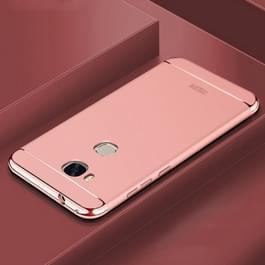 MOFi voor Huawei Honor 5 X drie fase Splicing Shield volledige dekking beschermende Case achtercover (Rose goud)