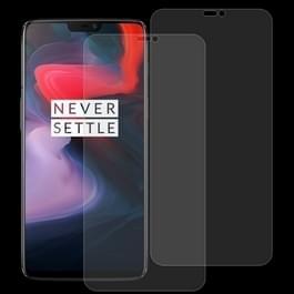 2 stk 0 26 mm 9H 2.5D getemperd glas Film voor OnePlus 6