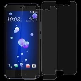 2 stk 0 26 mm 9H 2.5D getemperd glas Film voor HTC U11