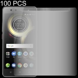 100 PCS 0.26mm 9H 2.5D Tempered Glass Film for Lenovo K8 Plus