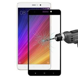 ENKAY voor Xiaomi Mi 5s Plus Hat-Prins 0 26 mm 9H hardheid 2.5D explosieveilige kleurrijke volledig scherm getemperd glas scherm Film(Black)
