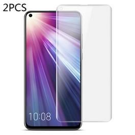 2 stuks IMAK 0 15 mm gebogen Full Screen Protector hydrogel film front Protector voor Nokia X71 (transparant)
