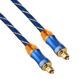 EMK verguld 10m LSYJ-A OD6.0mm metalen hoofd Toslink mannelijk naar mannelijke digitale optische audiokabel