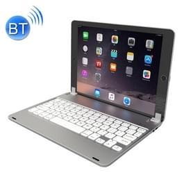 F17 voor iPad Pro 9 7 inch & iPad Air 2 & iPad Air instelbare sleuf magnetische zuig Bluetooth toetsenbord met slaap / Wake-up Function(Silver)