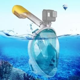 PULUZ 220mm buis watersport apparatuur volledig droog Snorkel duikbril voor GoPro  GoPro HERO 7 / 6 / 5 / 5 session / 4 session / 4 / 3+/ 3 / 2 / 1  Xiaoyi en andere actie camera
