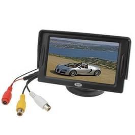 4.3 inch TFT LCD-auto Rearview Monitor met standaard en Sun Shade(Black)
