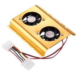 4-pin harde schijf schijf koeling Fan(zwart)
