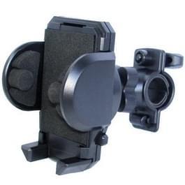 universeel 360 graden draaiend quakeproof fiets houder voor iphone 5 & 5s & 5 c / iphone 4 & 4s / andere mobiele telefoons / mp4 / pda breedte: 4cm - 7,2 cm