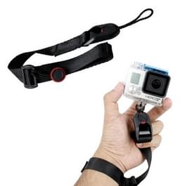 TMC Quick Release Camera manchet polsband voor GoPro HERO 4 / 3 + / 3 / 2 / 1 Camera  Max Lengte: 22cm(zwart)