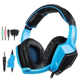 SADES 920 Gaming Headset Hoofdtelefoon met microfoon voor PC / PS4 / Xbox 360 / Smartphone met 5-in-1 plugset