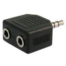 3.5mm Stereo Jack hoofdtelefoon Splitter Adapter
