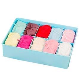 10 rasters vanuit een ongedekte positie ondergoed sokken stropdas Organizer opbergdoos (willekeurige kleur levering)