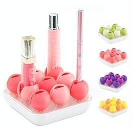 Multifunctionele Bud stijl siliconen cosmetica organisator opbergdoos (willekeurige kleur levering)