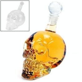 Crystal Skull fles voor wodka & Whiskey & bier likeur & rode wijn & andere drank  350ML