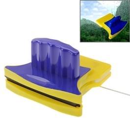 Magnetische dubbelzijdige glasreiniger (blauw + geel)