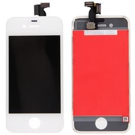 3 in 1 voor iPhone 4 (LCD + Frame + touchpad) Digitizer Assembly(White)
