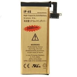 2680mAh Gold Business vervangende batterij voor iPhone 4S