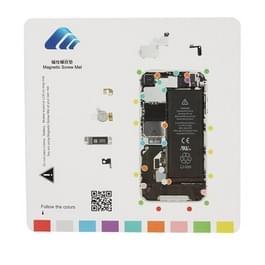 Magnetische schroeven Mat voor iPhone 4S  maat: 20cmx 20cm