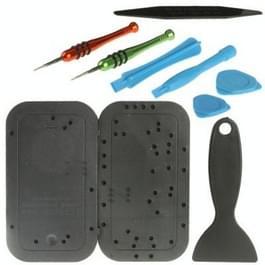 9 in 1 (veelzijdige schroevendraaiers + Opening Tools) professionele demontage gereedschap herstellen voor mobiele telefoons